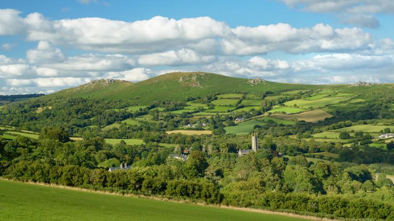 Idyllic village on Dartmoor