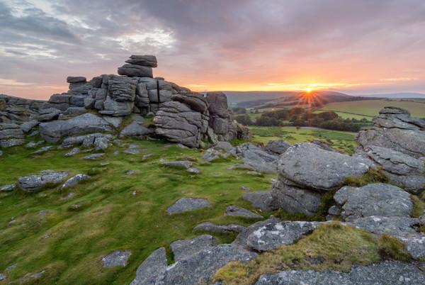 Hound of the baskervilles sunset