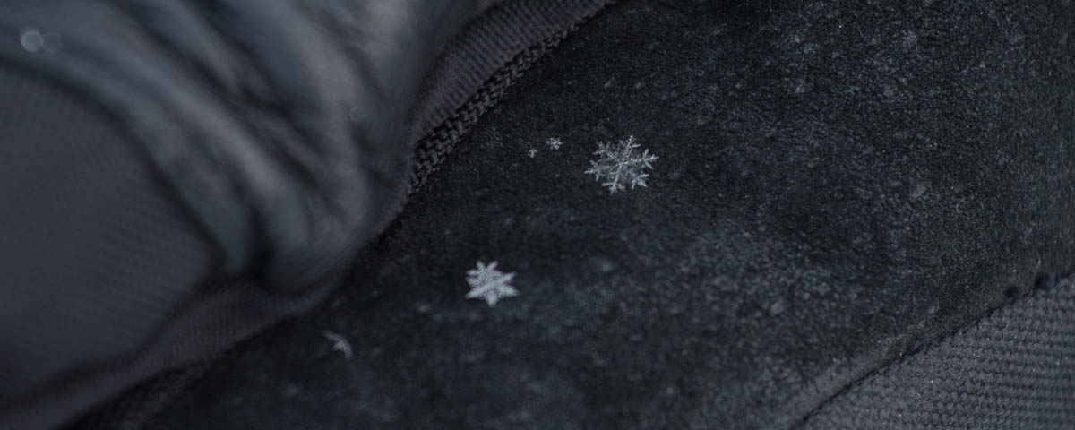 Incredible snow flakes, they were perfectly formed