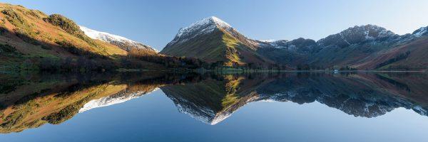 Lake District winter reflection