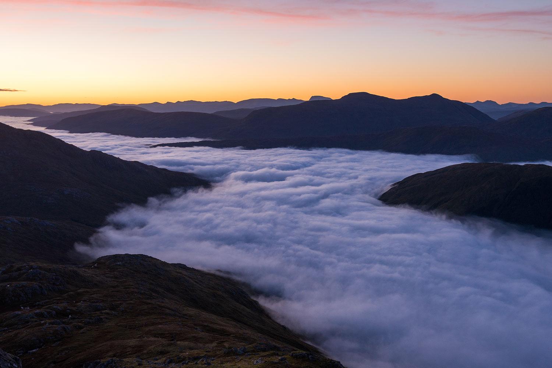Inversion in Scottish highlands