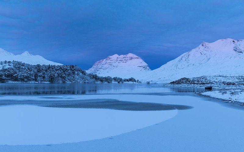 Loch Clair Panorama