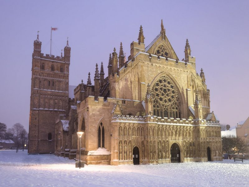 Exeter Cathedral Winter